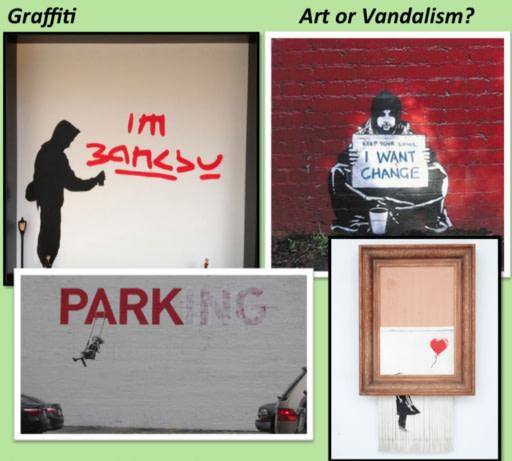 Graffiti: art or vandalism?